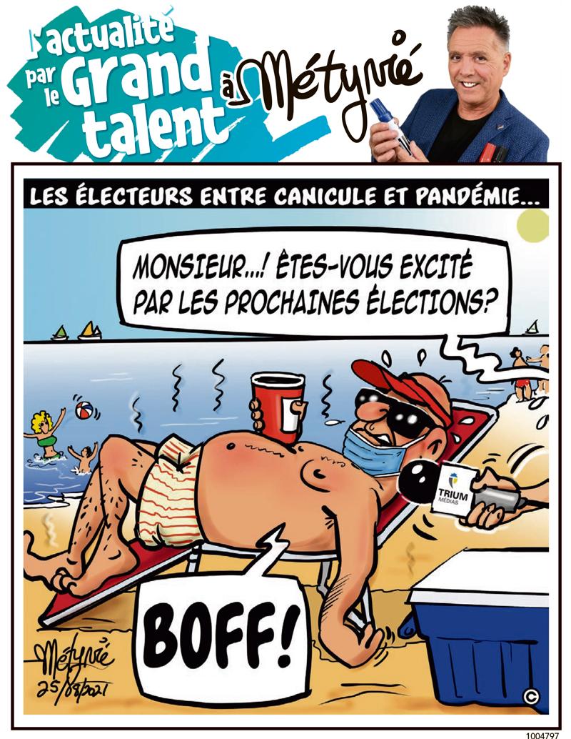 L'actualité par le Grand talent à Métyvié du 25 août 2021