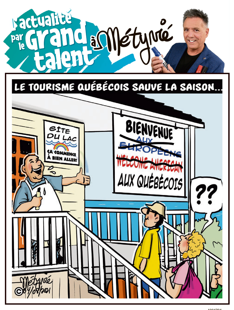 L'actualité par le Grand talent à Métyvié du 4 août 2021