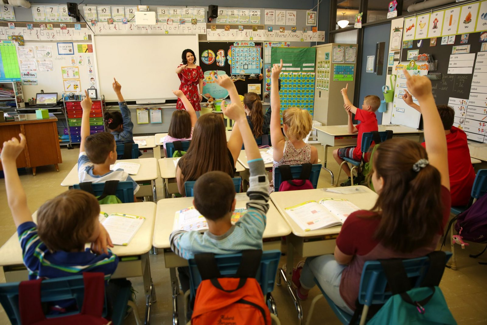 Rentrée scolaire: Plus d'élèves dans les écoles du Pays-des-Bleuets