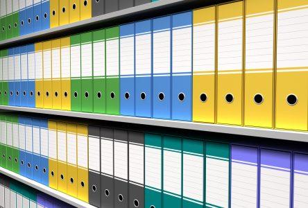 Les différents meubles pour le classement de documents